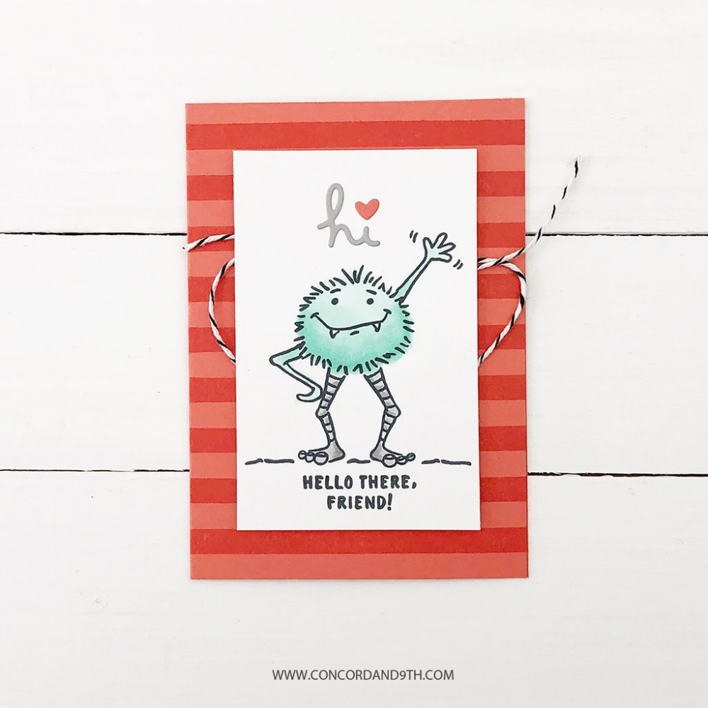 Concord 9th Monster Love Stamp Set